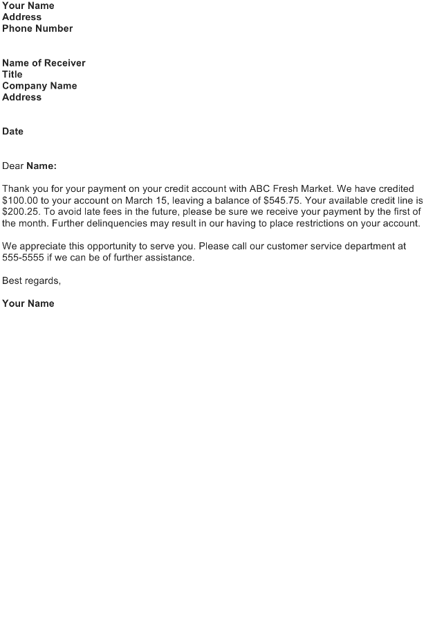 Acknowledgement Letter Sample Download Free Business
