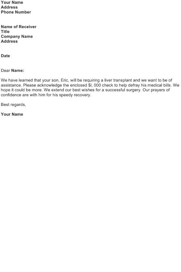 writing a letter of appreciation to an employee